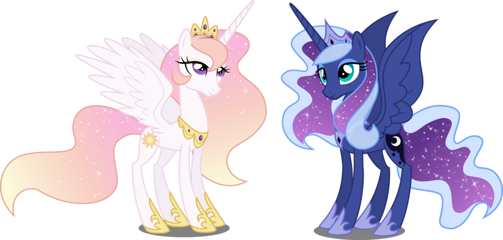 Celestia And Luna Are My Little Pony Alicorn Princesses Who Sisters Daughters Both Loved Actually Still Do Ponies